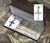 Graduate, Box Cross Necklace