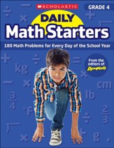 Daily Math Starters: Grade 4: 180 Math Problems for Every Day of the School Year