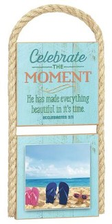 Celebrate The Moment Photo Plaque