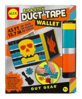 Rip and Stick Duct Tape Wallet