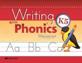 Abeka Writing with Phonics K5  (Manuscript)