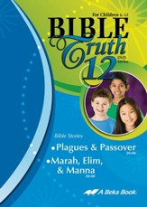 Abeka Bible Truth DVD #12: Plagues & Passover; Marah, Elim &  Manna