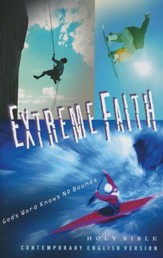 CEV Extreme Faith Youth Bible, Paper - Slightly Imperfect