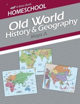 Abeka Homeschool Old World History & Geography Maps A