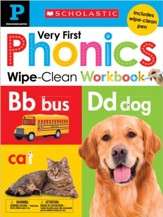 Wipe Clean Workbook: Pre-K My Very First Phonics