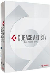 Cubase Artist 7 on DVD-ROM