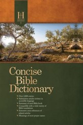 Holman Concise Bible Dictionary - eBook