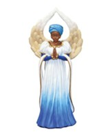 Serenity Angel Figurine, Blue