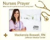 Personalized, Photo Frame, Nurses Prayer, 5x7, White