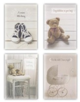 Blessed Baby Congratulations Cards, Box of 12