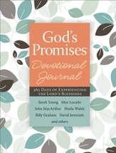 God's Promises Devotional Journal: 365 Days of Experiencing the Lord's Blessings - eBook