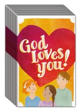 God Loves You! (ESV), Pack of 25 Tracts