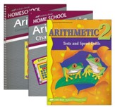 Abeka Grade 2 Homeschool Parent  Arithmetic Kit