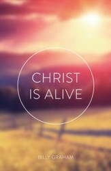 Christ Is Alive (KJV), Pack of 25 Tracts