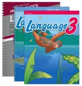 Grade 3 Homeschool Parent Language Arts Kit