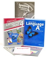 Grade 4 Homeschool Parent Language Arts Kit