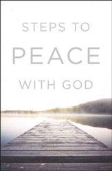 Steps to Peace with God (ESV), Pack of 25 Tracts