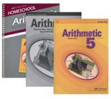 Abeka Grade 5 Homeschool Parent  Arithmetic Kit