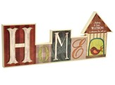 Personalized, Block Word Plaque, Home
