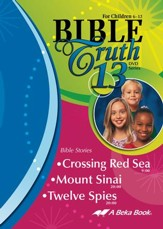 Abeka Bible Truth DVD #13: Crossing  Red Sea, Mount Sinai,  Twelve Spies