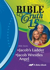 Abeka Bible Truth DVD #15: Jacob's  Ladder, Jacob Wrestles  Angel