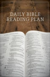 Daily Bible Reading Plan, Pack of 25 Tracts