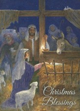 Holy Family Nativity (Matthew 1:23, NIV), 20 Count Boxed Christmas Cards