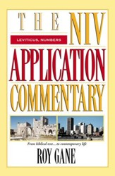 Leviticus & Numbers: NIV Application Commentary [NIVAC] -eBook
