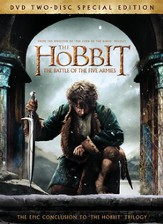 The Hobbit: The Battle of Five Armies, DVD