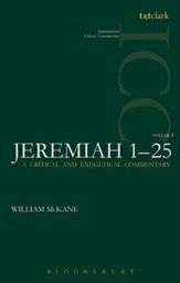 Jeremiah 1-25, Vol 1: International Critical Commentary [ICC]