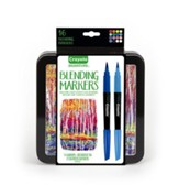 Crayola, Blending Markers with Tin, 16 Pieces