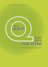NIV Quest Study Bible for Teens: The Question and Answer Bible - eBook