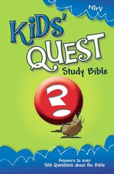 NIrV Kids' Quest Study Bible: Real Questions, Real Answers / New edition - eBook