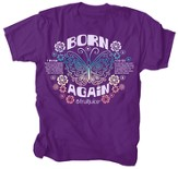 Born Again Shirt, Purple, Medium