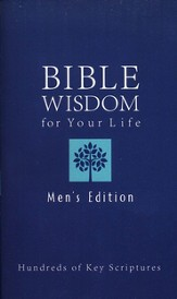 God's Wisdom for Your Life-Men's Edition: 1,000 Key Scriptures - Slightly Imperfect