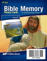 Miniature Preschool Bible Memory Picture Cards