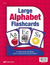 Abeka Large ABC Flashcards