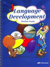 Abeka Language Development Teacher's Guide (Ages 2 & 3)