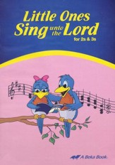 Abeka Little Ones Sing unto the Lord  2s & 3s Audio CD