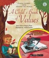 A Child's Book of Values: Classic Stories from Around the World - interactive edition