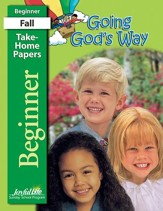 Going God's Way Beginner (ages 4 & 5) Take-Home Papers