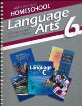 Abeka Homeschool Language Arts 6  Curriculum/Lesson Plans