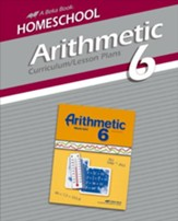 Abeka Homeschool Arithmetc 6 Curriculum/Lesson Plans