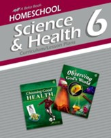 Abeka Homeschool Science & Health 6  Curriculum/Lesson Plans