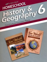 Abeka Homeschool History & Geography  6 Curriculum/Lesson  Plans