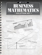 Abeka Business Mathematics Solution Key