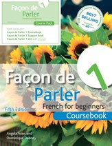 Facon de Parler 1 French for Beginners: Course Book, 5th Ed.