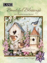 2017 Bountiful Blessings Monthly Pocket Planner