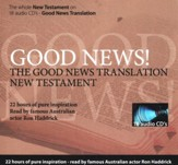 Good News Translation New Testament on Audio CD, Read By Ron Hedrick