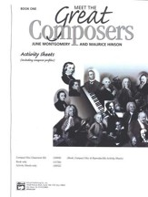 Meet the Great Composers, Book 1 Activity Sheets